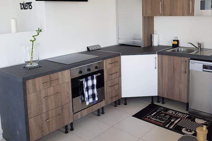 Appartement  moderne et lumineux pour 6 personnes.