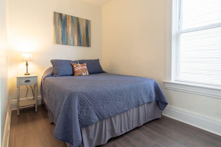 Bedroom 1 with Queen Bed.