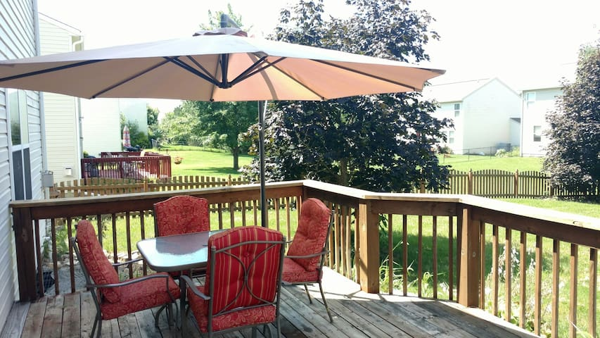King bed, Breakfast, Cute cats - Indianapolis - Casa
