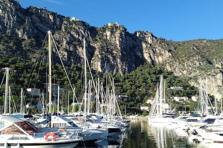My lovely sailing boat located in Beaulieu-sur-Mer