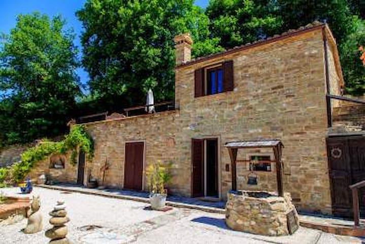 Casa-Cantalupo - 2 FH für 2-4 P-  CASA LUNGO - Cupramontana - House