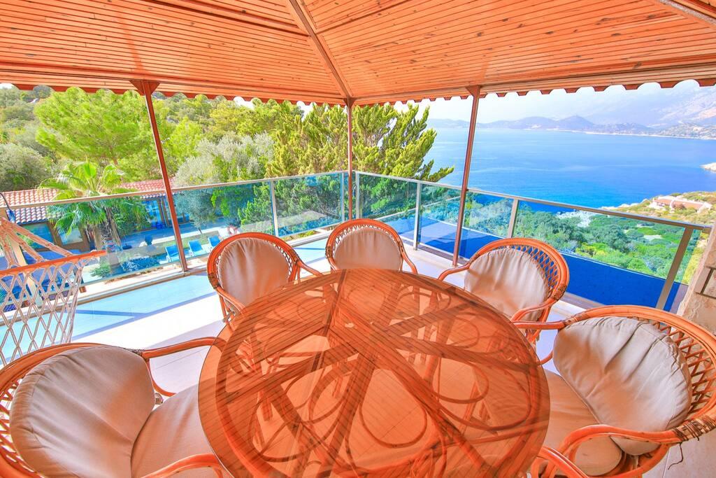 Balcony of top floor