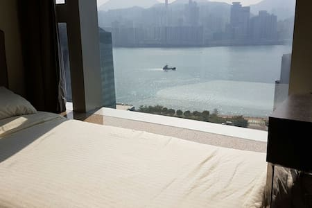 Single Bedroom with AMAZING View to HK/Vict Harbor - Hong Kong - Lejlighed