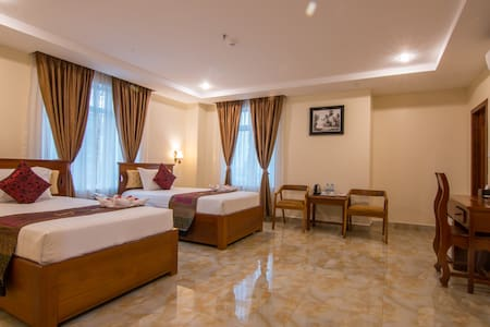 Twin room with Balcony and included Breakfast - 프놈 펜(Phnom Penh) - B&B