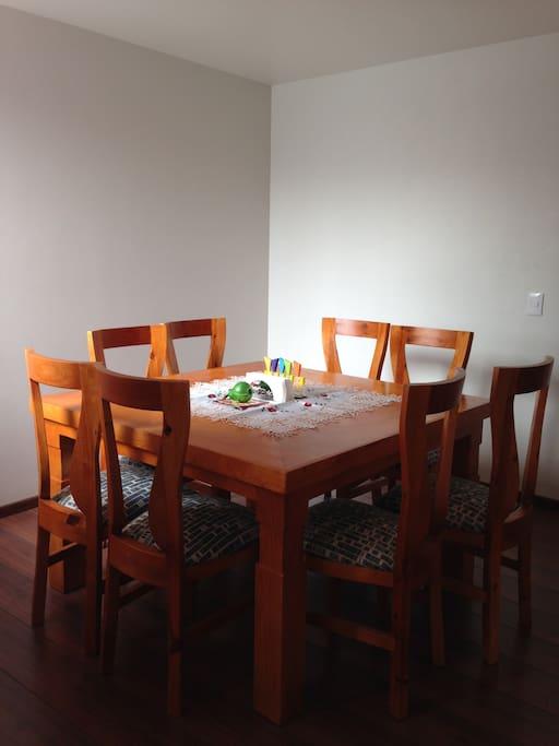 Comedor para ocho personas/Dining room