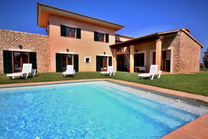 Villa SON COSTA with big pool. - Sineu - Dom
