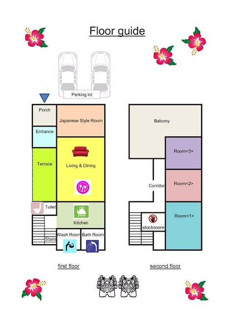 Layout of our house
