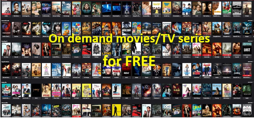 FREE on demand movies/ TV series
