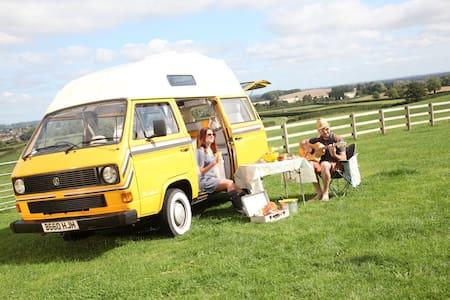 A beautifully restored VW Camper - Lichfield