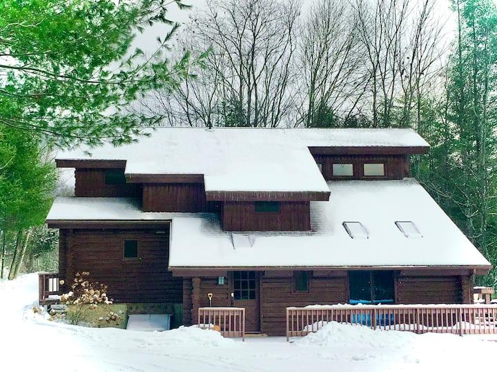 Log Home Retreat