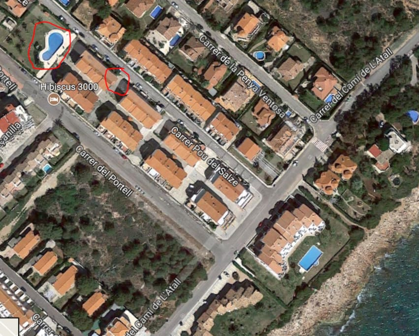 Location and Swimming Pool