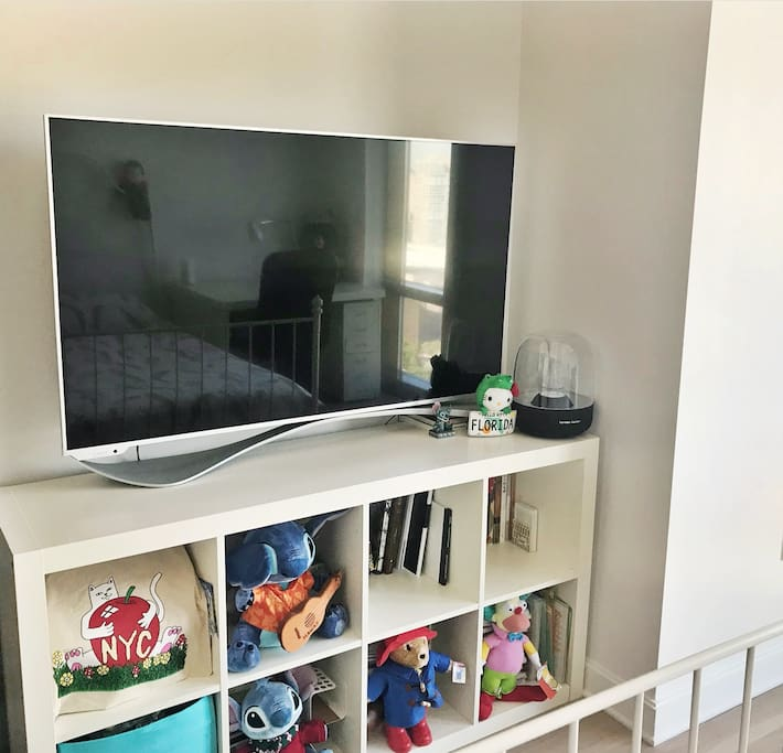 55 Inch TV & Harman Kardon bluetooth speaker