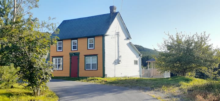 Restored outport home