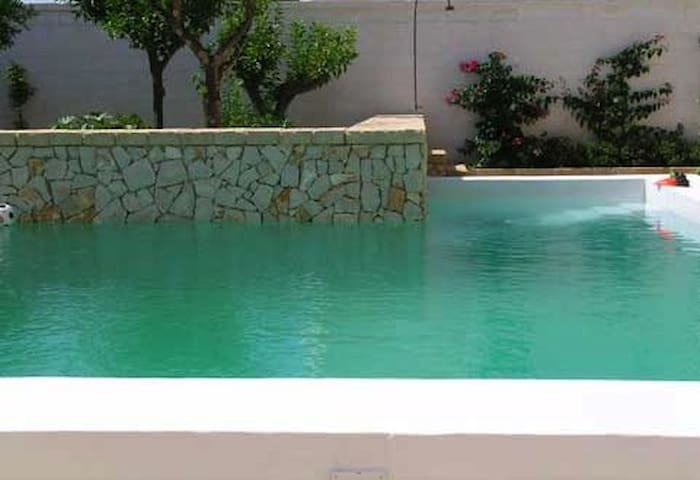 Otranto villa with garden and pool - Giurdignano - Casa de camp