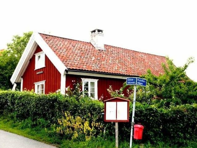 Wooden cottage at Brännö,  just outside Göteborg