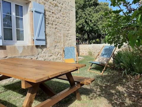 Logement indépendant avec jardin proche Poitiers