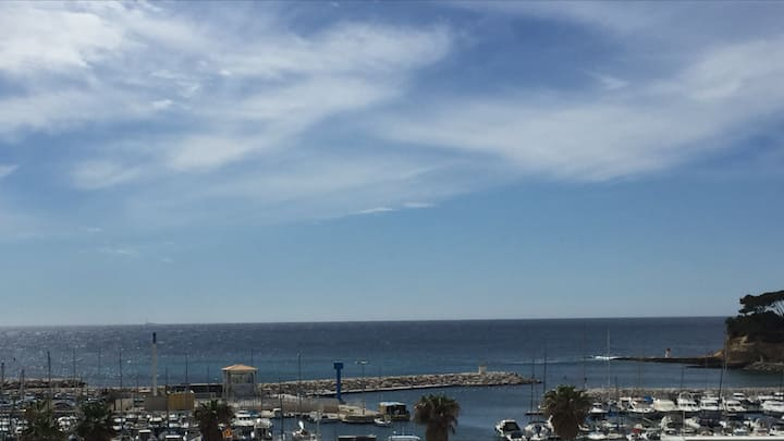 Appartement Bord de mer avec vue sur mer