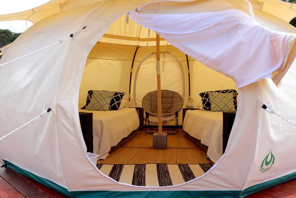 Kulaniapia Farms (Cozy Queen Pod 2) - Tents for Rent in Hilo Hawaii United States & Kulaniapia Farms (Cozy Queen Pod 2) - Tents for Rent in Hilo ...