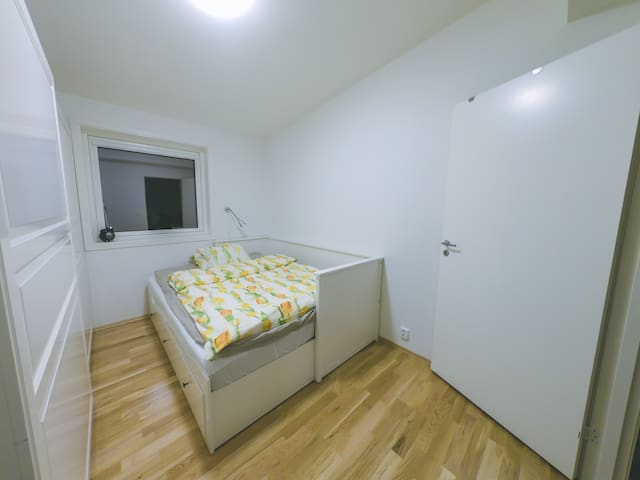Clean modern room with panoramic views Stavanger