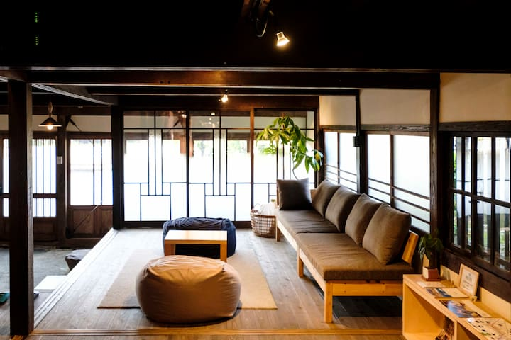Saga! Beautiful Japanese home.Enjoy Onsen&Food!