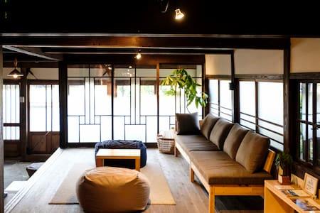 Saga! Beautiful Japanese home.Enjoy Onsen&Food!