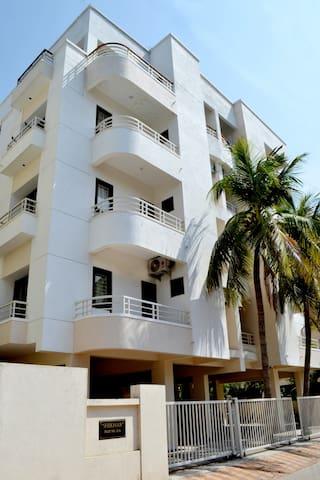 Shikhar Service Apartments, Gotri Road, Vadodara.