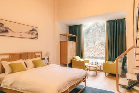 复式景观双床房