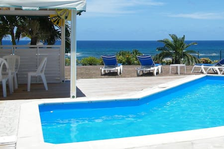 Villa with beautiful sea view near the beach - Saint-François