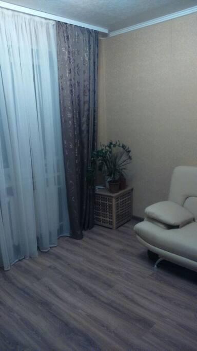 2-я комната с раскладывающийся диваном
