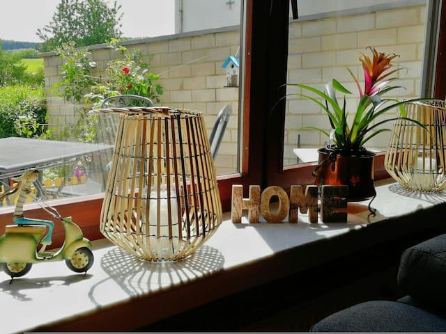 Eifel for you! Ferienhaus Luna. 95 qm mit Garten