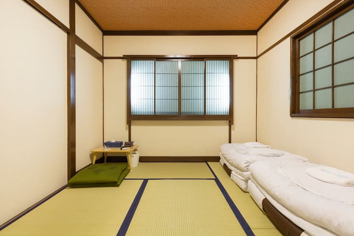 Near kyoto sta/Japanese style room for 3ppl