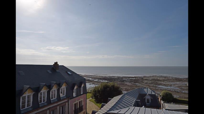 Appartement vue mer à Villerville