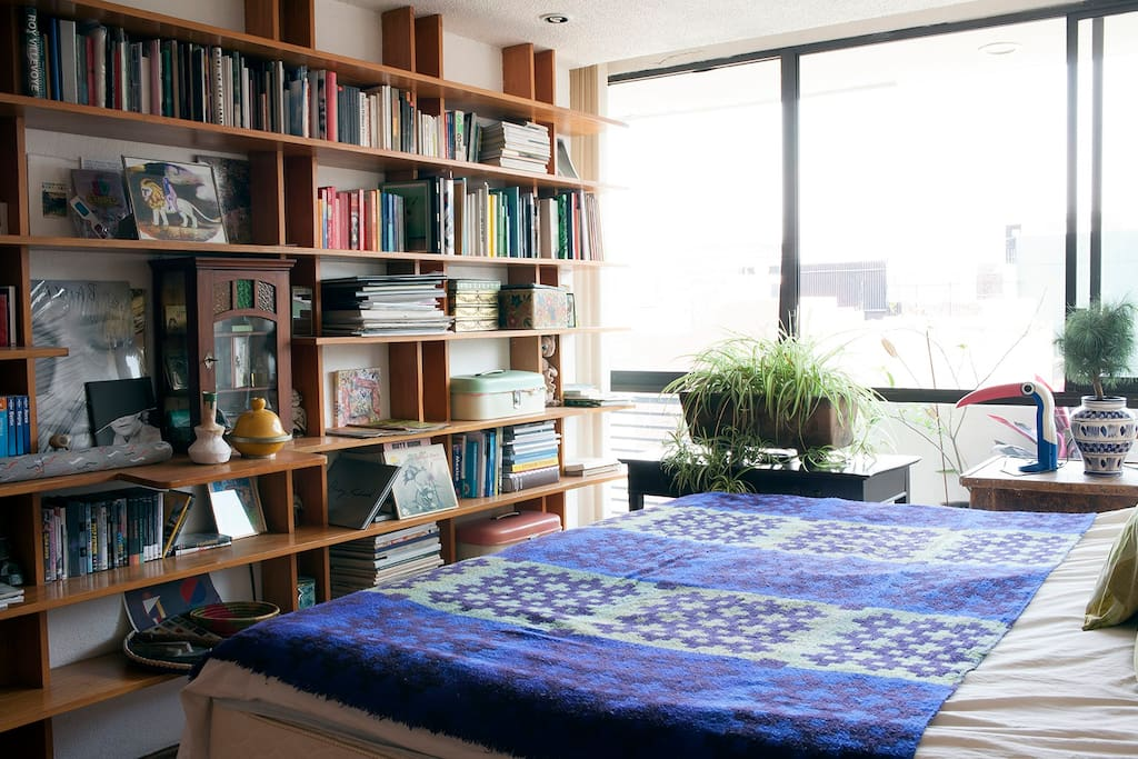 THIS IS THE LIBRARY sleeping ROOM
