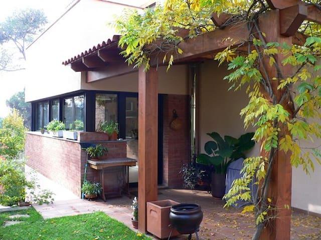 Habitació doble en plena naturaleza - Santa Maria de Palautordera - House