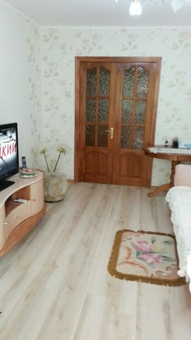 Уютная комната. Private cozy room. お部屋をお貸しします - Vladivostok - Apartment