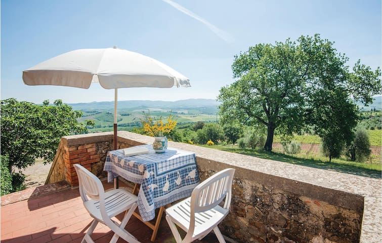 Holiday apartment with 1 bedroom on 35m² in S. Quirico d'Orcia SI