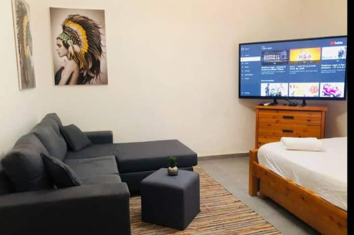 Quite place in the center of town-  Studio Apt.