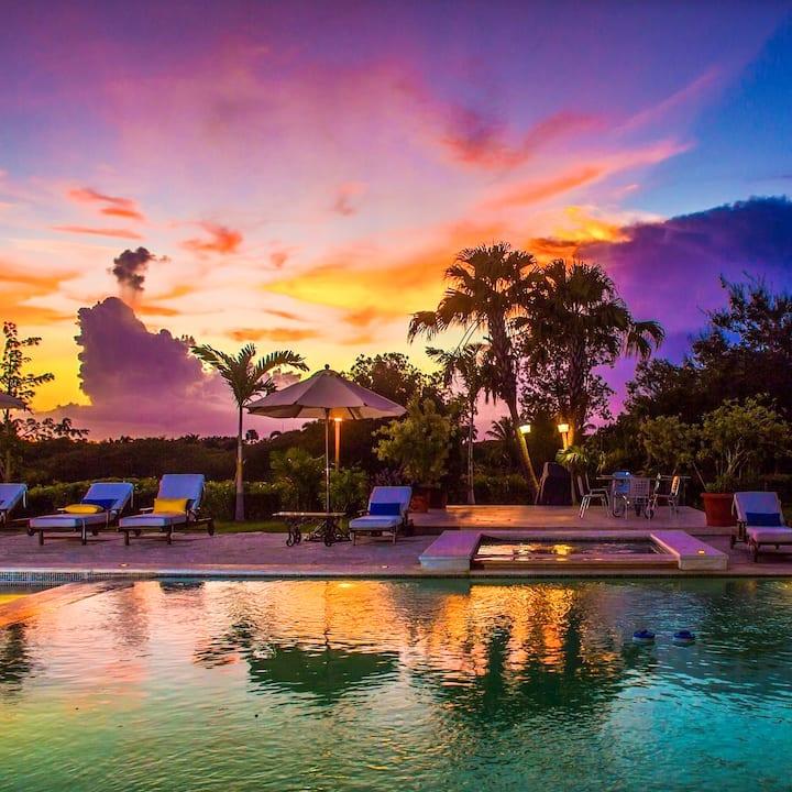 Paraíso tropical! Grandiosa villa 3 piscinas - #F1