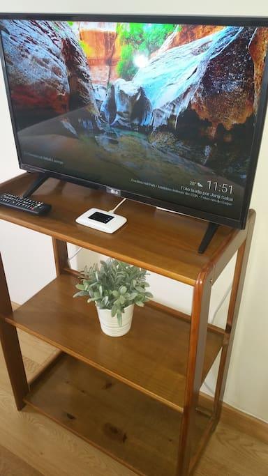 Tv, Chromecast, wifi