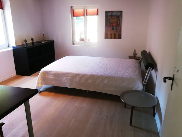 Double room in a country home 15 min form Zürich