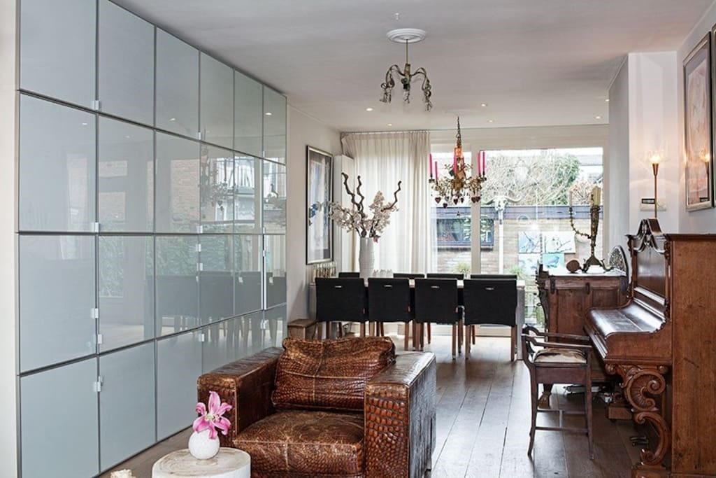 Amsterdam stylish family house 10 min from centre case for Case affitto amsterdam economici