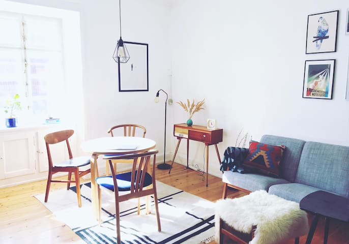Charming, colorful and light apartment in CPH - København - Leilighet