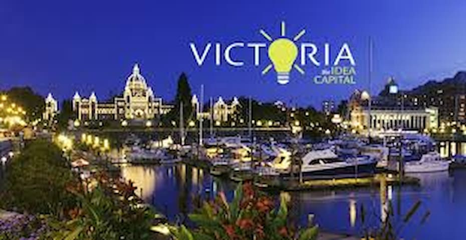 Victoria Parliament Building & Inner Harbour