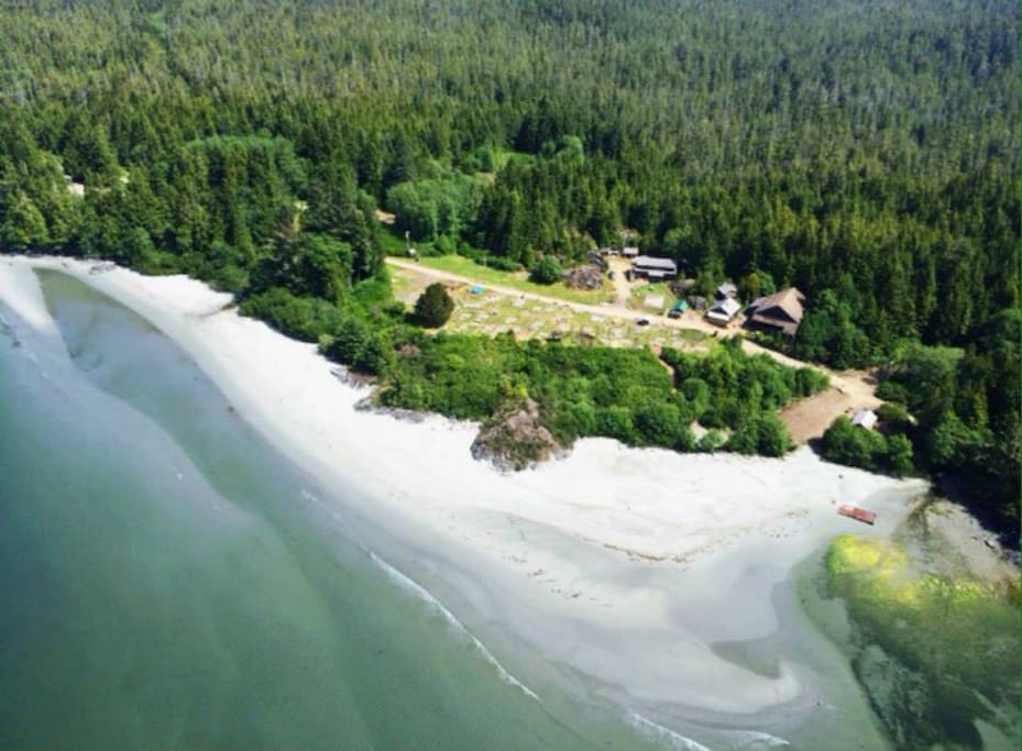 the campground from the air!