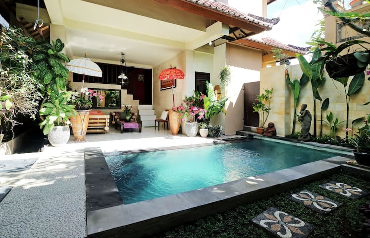 Rumah Agung 2BR House with private pool - Ubud - Casa