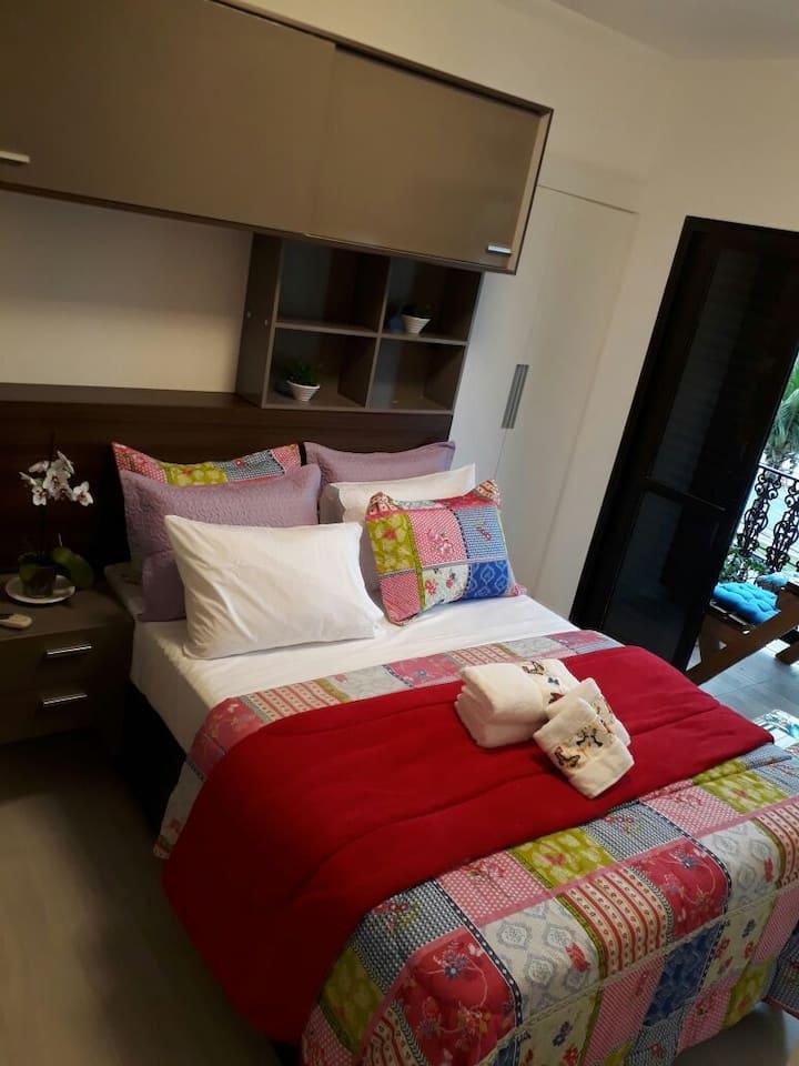 Quarto conforto na Enseada - Room Three Dom Pedro