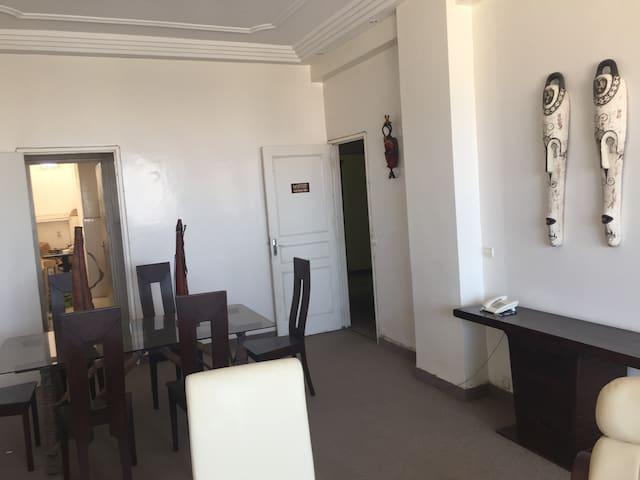 Espace salon salle a manger