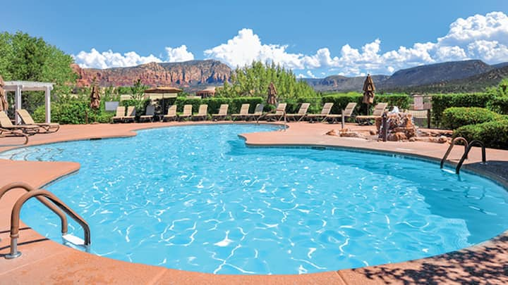 Ridge on Sedona Golf Resort- Studio sleeps 4