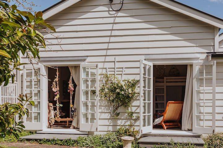 All bedrooms have french doors which open onto either a garden, courtyard or veranda