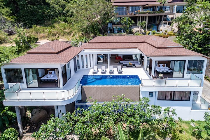 Sunny Banks: 4 Bed Villa with Pool